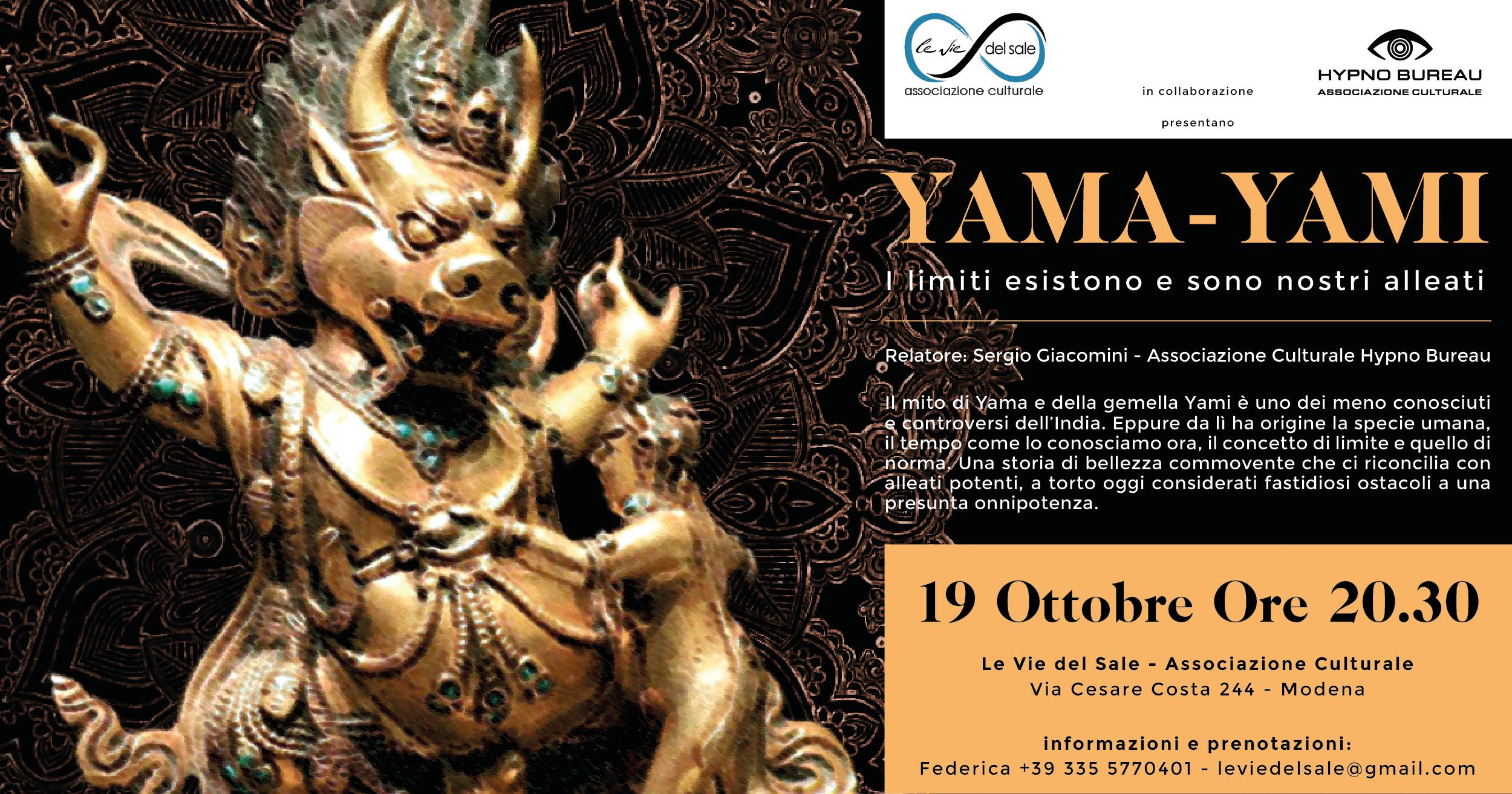 Yama Yami - i limiti esistono e sono nostri alleati - Hypno Bureau in collaborazione con Le Vie del Sale