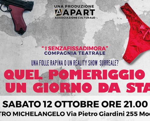 Commedia Quel pomeriggio di un giorno da star - Teatro Michelangelo Modena 2019 2020 - 12 Ottobre ore 21