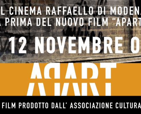 Al Cinema Raffaello di Modena la Prima di Apart