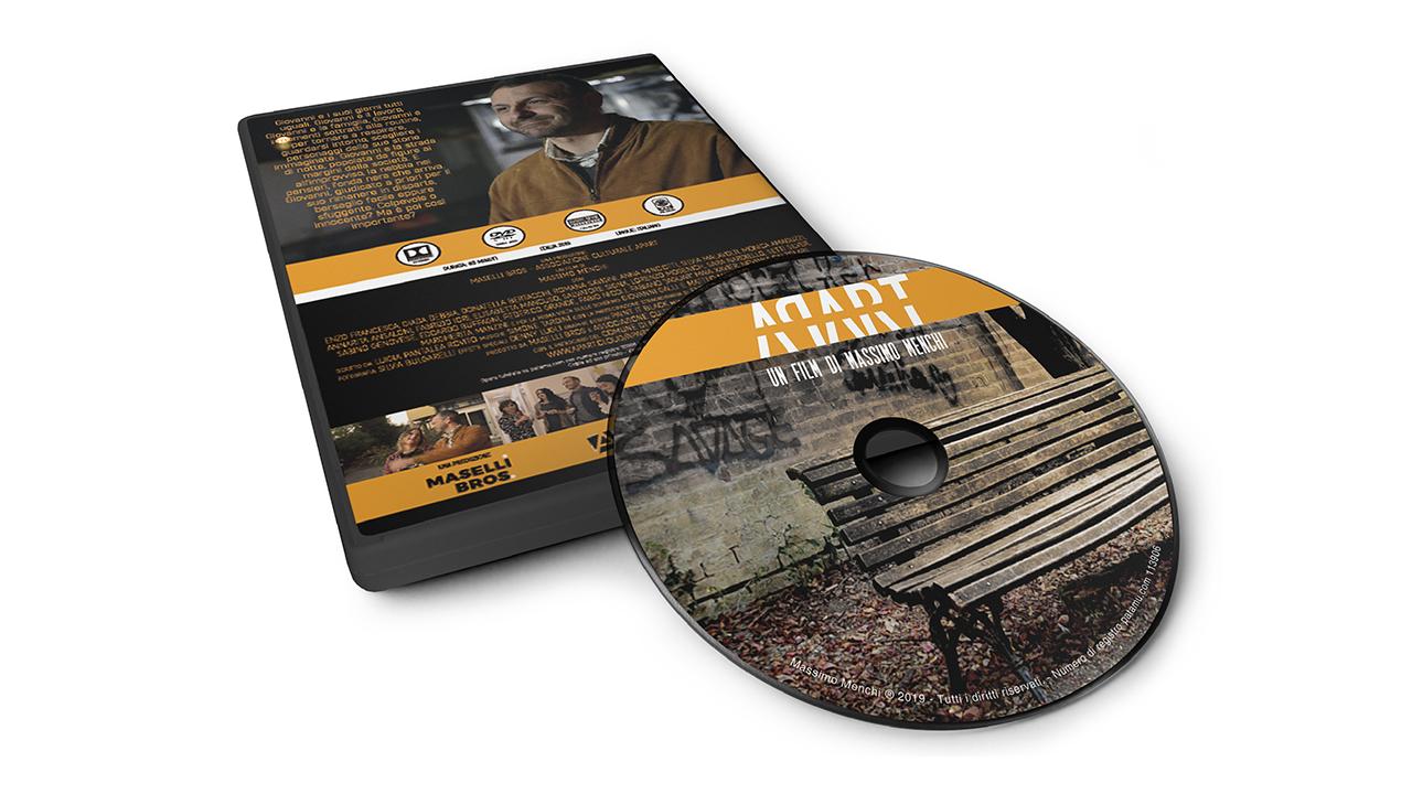 APART - Il Film in DVD - Regia di Massimo Menchi - prodotto dall'Associazione Culturale Apart Modena